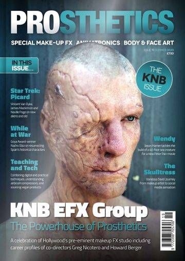 PROSTHETICS ISSUE 19 FRONT COVER